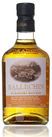 Ballechin Scotch Single Malt Marsala Cask Matured